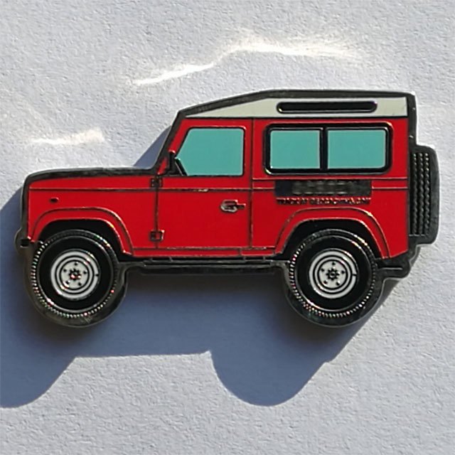 Land Rover Defender 90 Geocoin red.jpg